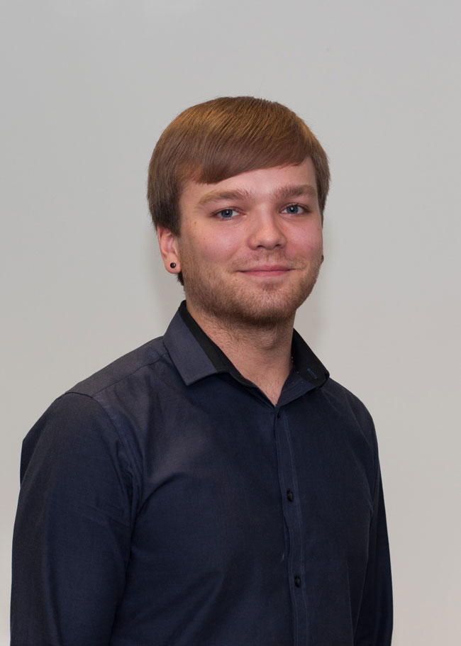 Development engineer Adam Thurgood